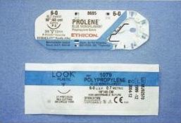 ポリプロピレンの縫合糸(非吸収性合成縫合糸)